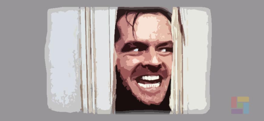 """El resplandor"" es un film de horror que se basa en la novela de Stephen King"