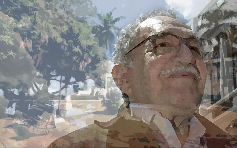 """El escritor colombiano autor de """"Cien años de soledad"""""""