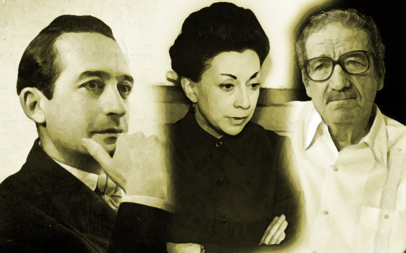 Villaurrutia, Castellanos y Sabines como representantes de la poesía mexicana