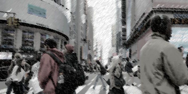 El anonimato en público es la constante