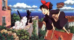 Una producción temprana del Studio Ghibli
