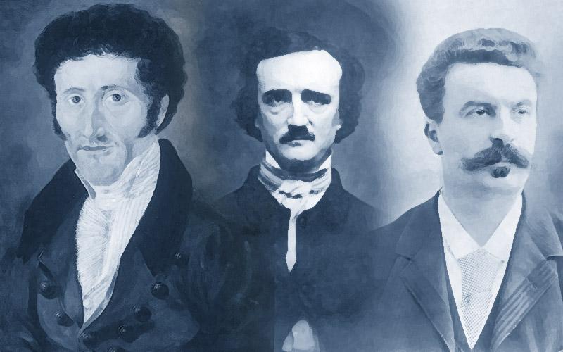 Tres figuras capitales del relato y de la exploración de lo humano