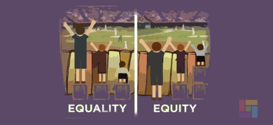 No es lo mismo la equidad que la igualdad