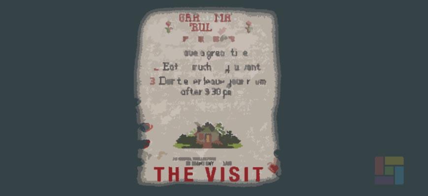 The Visit es la más reciente película de Shyamalan