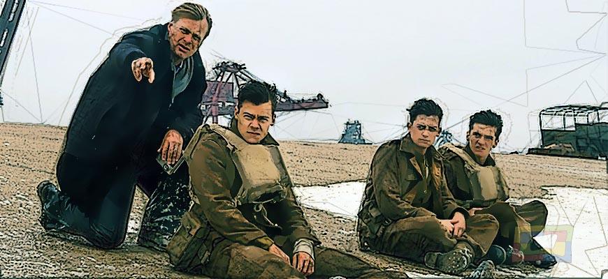 En Dunkerque Nolan muestra sus virtudes como director